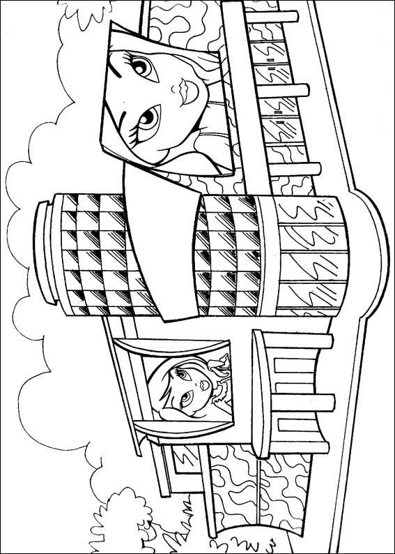 Bratz Coloring Pages Free Printable