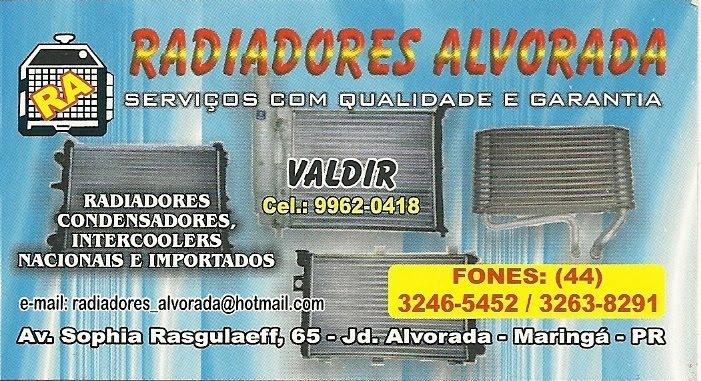 RADIADORES ALVORADA