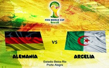 Alemania vs Argelia Octavos de Final