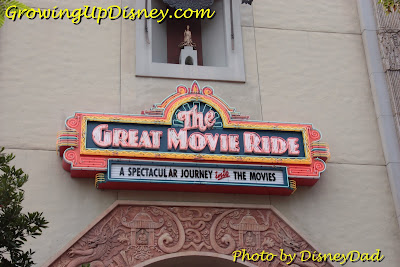 The Great Movie Ride signs Growing Up Disney