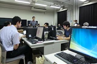 GIS講習会2012(初級)の一コマ