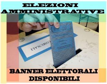 ELEZIONI COMUNALI - SPAZI ELETTORALI DISPONIBILI