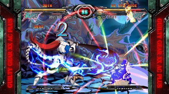 Game Guilty Gear XX Accent Core Plus R PC Full Crack screenshot
