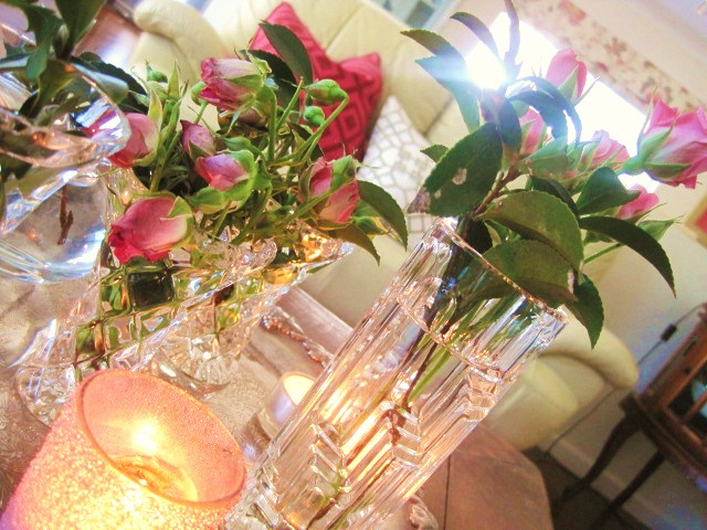 Decorating, Home Decor, Roses, Vignette