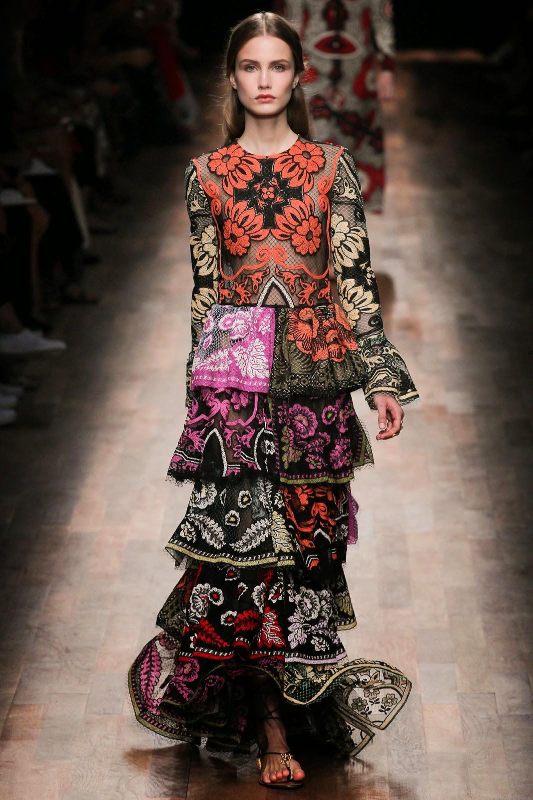 valentino 2015 summer 2016 trend women dress21 Valentino 2015 samling, våren sommaren 2016 Valentino klänning modeller, Valentino kväll klänning nya säsongen kvinnors kjolar modeller