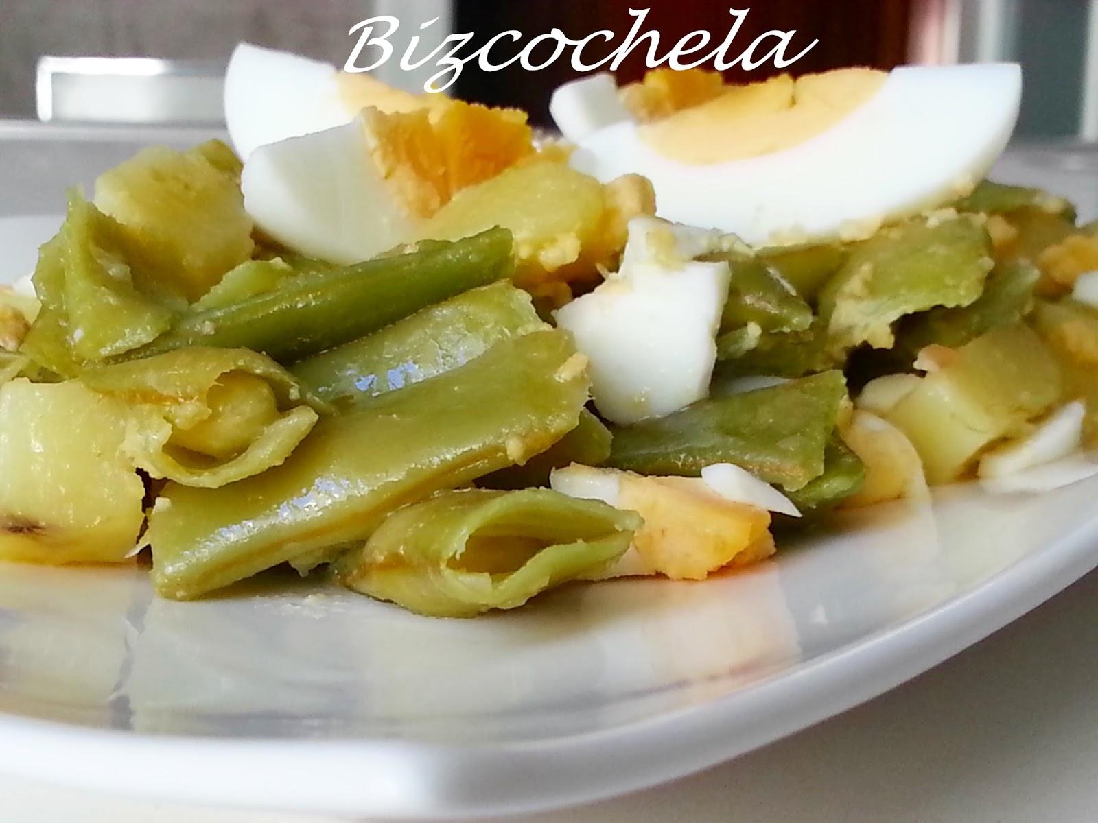 Judias verdes con patatas - Como hacer judias verdes ...