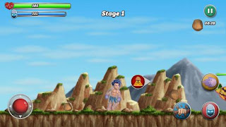 Screenshots of the Evostar: Legendary warrior for Android tablet, phone.