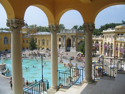 Széchenyi Bath 1913 architecture
