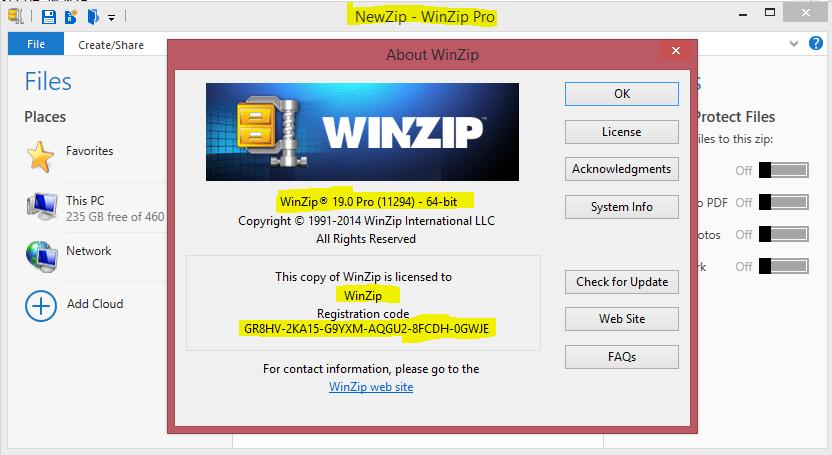 Winzip setup free download for xp