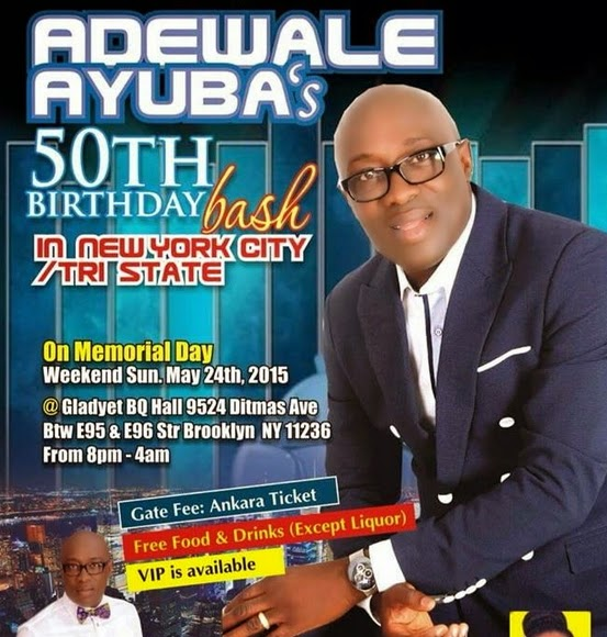 ayuba 50th birthday party