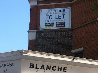 Ghost sign, Hammersmith, London
