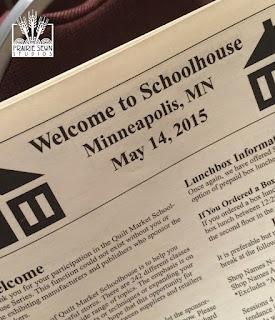 Spring 2015 Quilt Market Schoolhouse