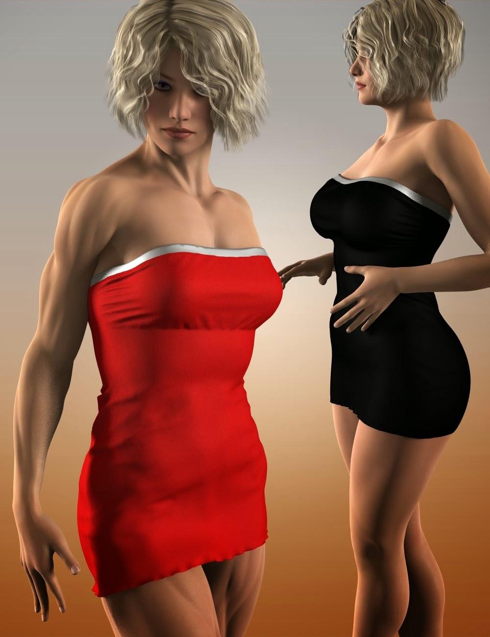 Robe de Tube Slinky pour Genesis 2 Femme