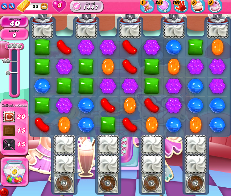 Candy Crush Saga 1447