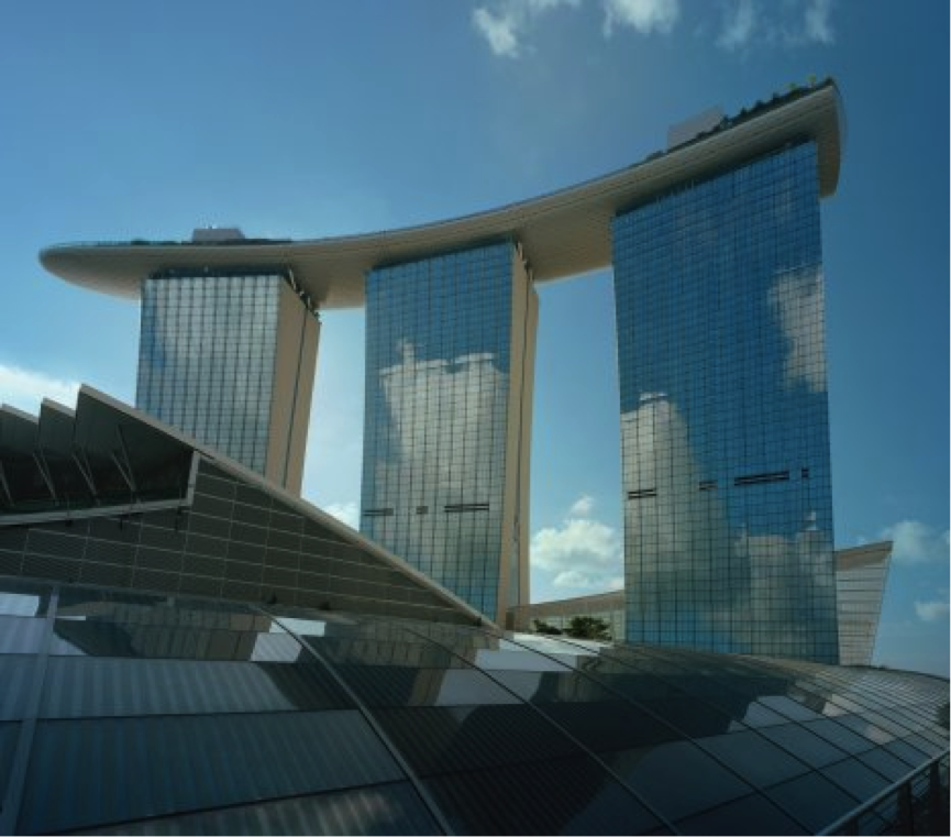 Barking riverside wildlife corridors and precedents for Marina bay sands architecture concept