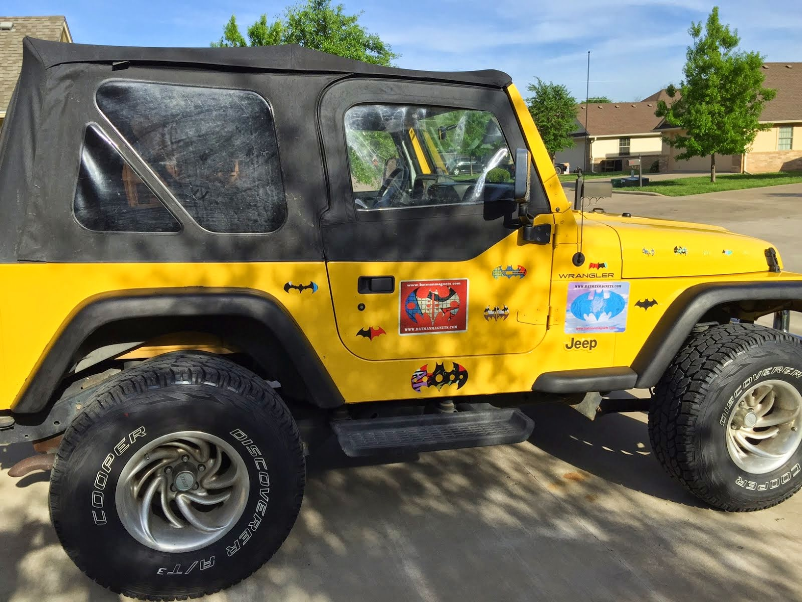 customized jeep magnets