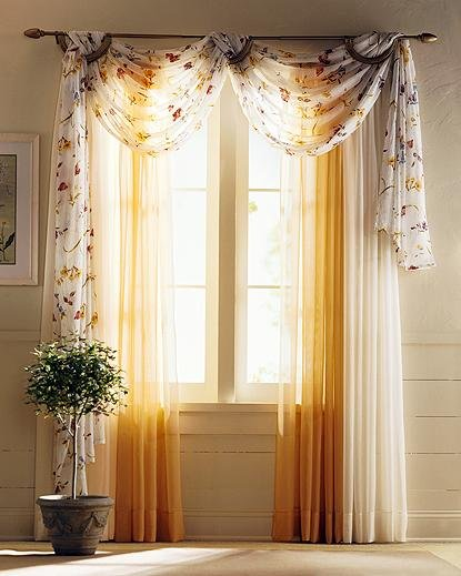 Tips on how to Make Basic Window Curtains with no Sewing ~ Curtains ...