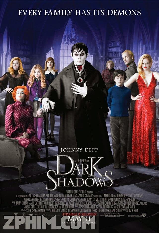 Lời Nguyền Bóng Đêm - Dark Shadows (2012) Poster
