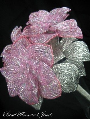 Beaded flower tutorial for your beaded floral bouquet!   Offbeat Bride