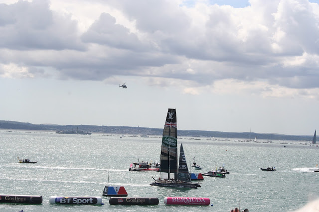 America's Cup Sailing Portsmouth