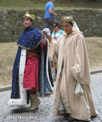 Rei e Raínha da Viagem Medieval 2012