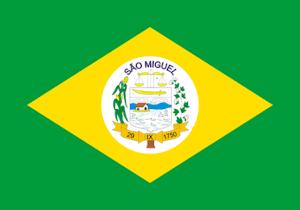 Bandeira de São Miguel - RN.