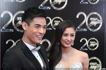 KimXi tandem Kim Chiu and Xian Lim hailed as Couple of the Night at Star Magic Ball 2012