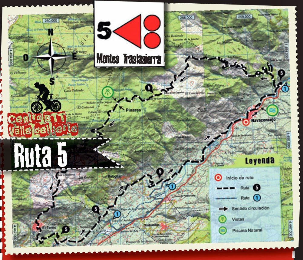 CENTRO BTT VALLE DEL JERTE. RUTA 5: Montes de Tralasierra