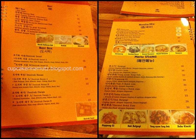 Kuliner jogja daehangno pocha kedai masakan korea for Z kitchen jogja menu