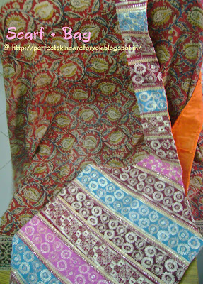 Kalamkari scarf at Perfect Skin Care for you