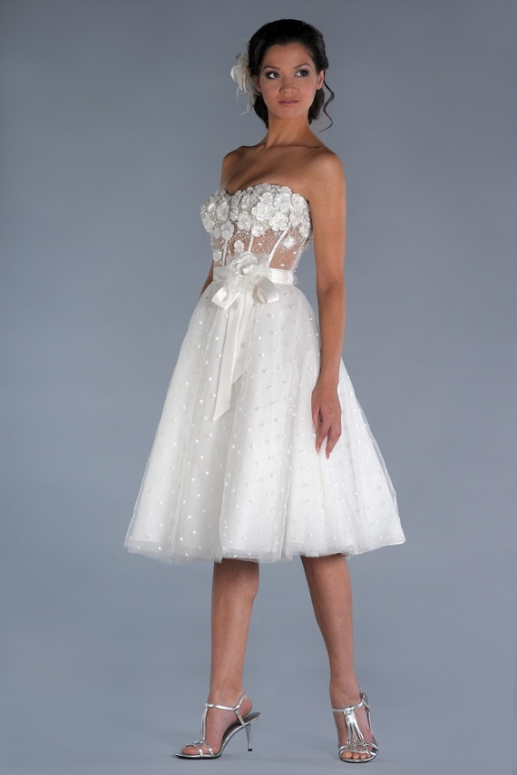 2012 short wedding dresses world of bridal for Short wedding dresses 2012