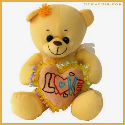 Gambar boneka teddy bear love