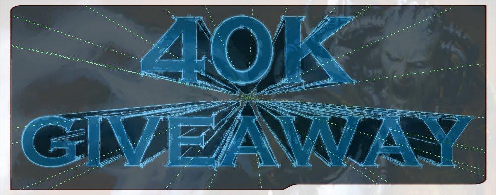 40K GIVEAWAY
