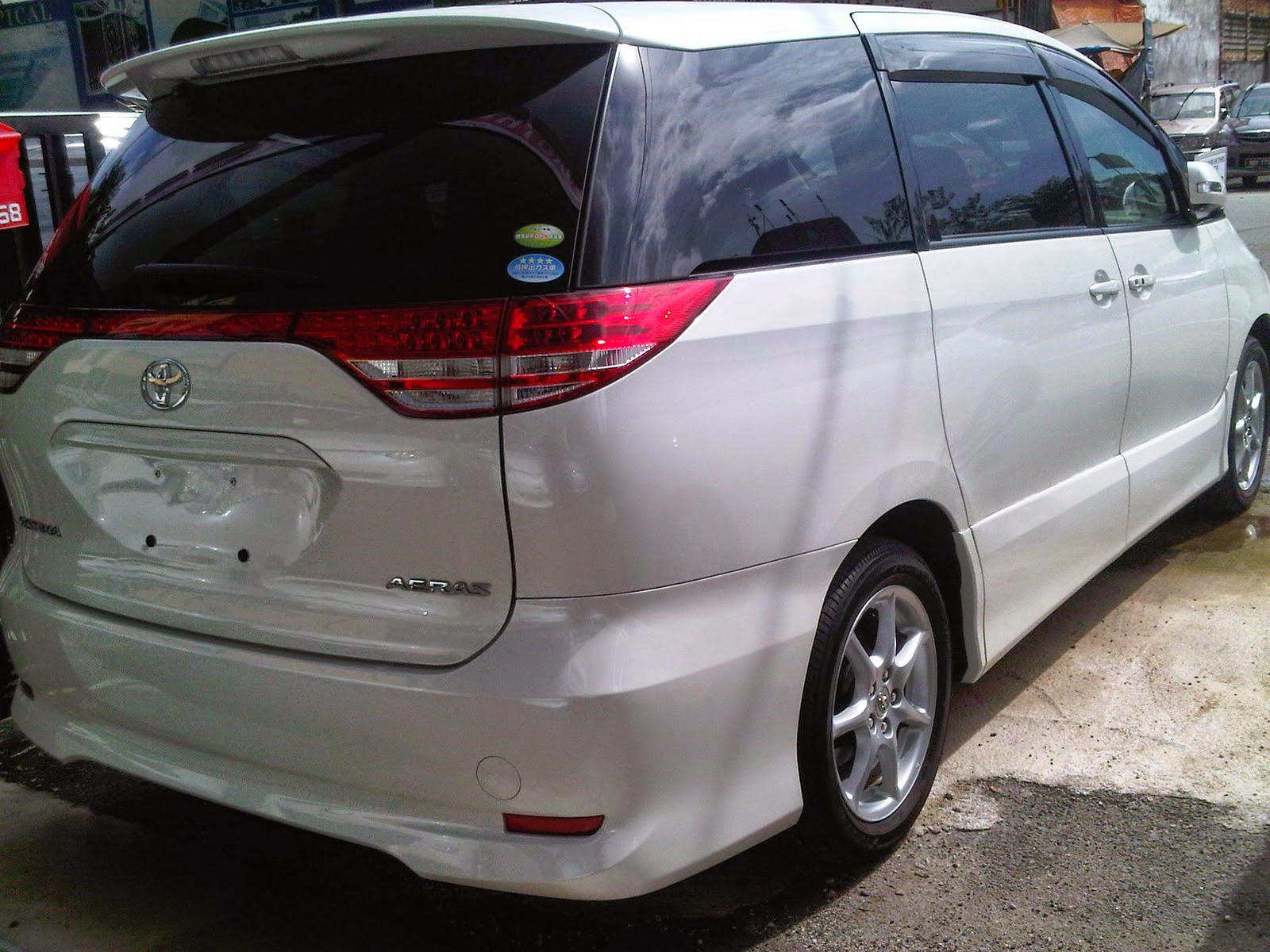 Toyota estima aeras 2 4cc full spec with 2 power door 8 seaters whatsapp sms telegram to reserve now rental rm480 per day