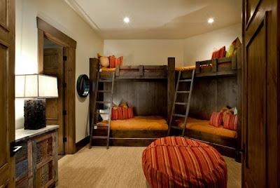 dormitorio literas 4 niños