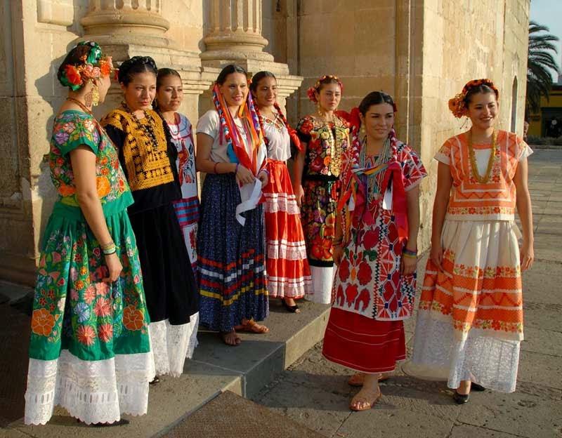 Simple Women Maxi Dresses Vneck Vintage 70s Mexican Ethnic Floral Dress Long