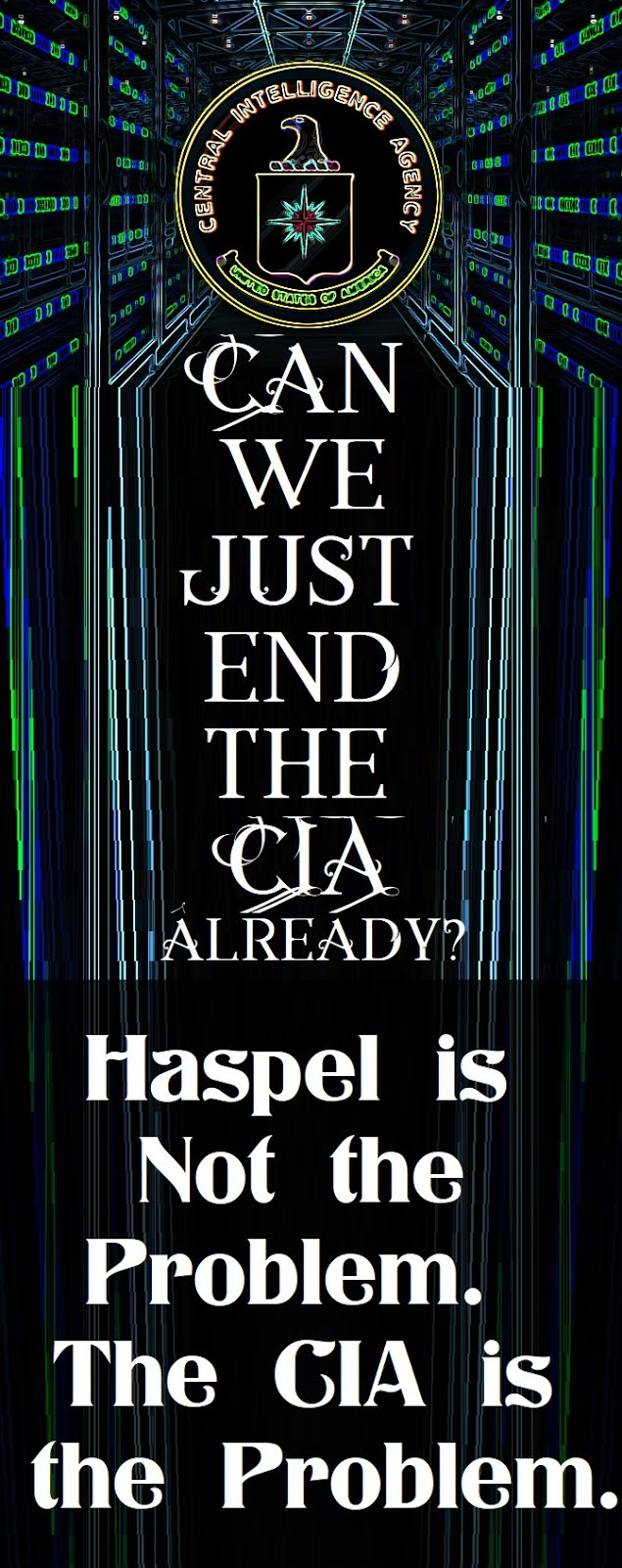 End The CIA!