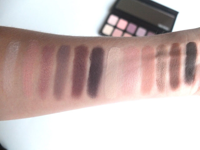 Laura Mercier Artist Eye Palette, eyeshadow, palette, swatches