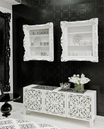 Brocade Home. Eclectic Touch
