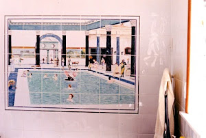 Bathroom Tile Mural