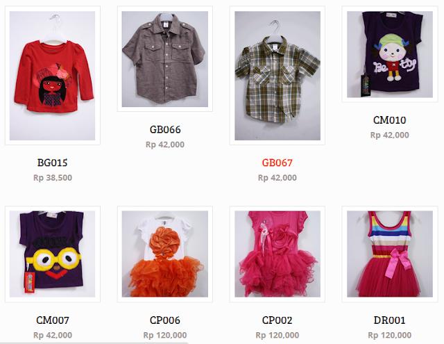 Cari Baju Anak Lengkap dan Murah? Ya di Belanjagrosir.com