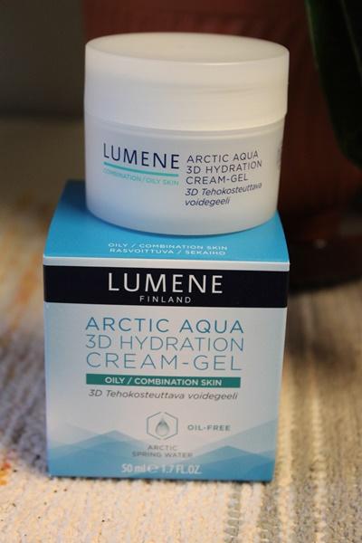 lumene arctic aqua 3d hydrating cream gel
