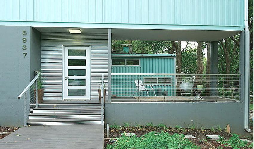 vivienda en contenedores de obra by Habitan2