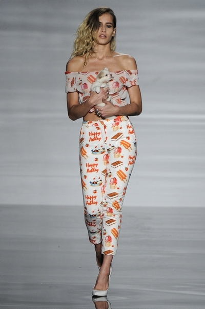Ashley Williams university of westminster graduate fashion show 2012 alice delal