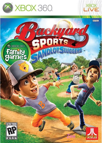 gaming world backyard sports rookie rush