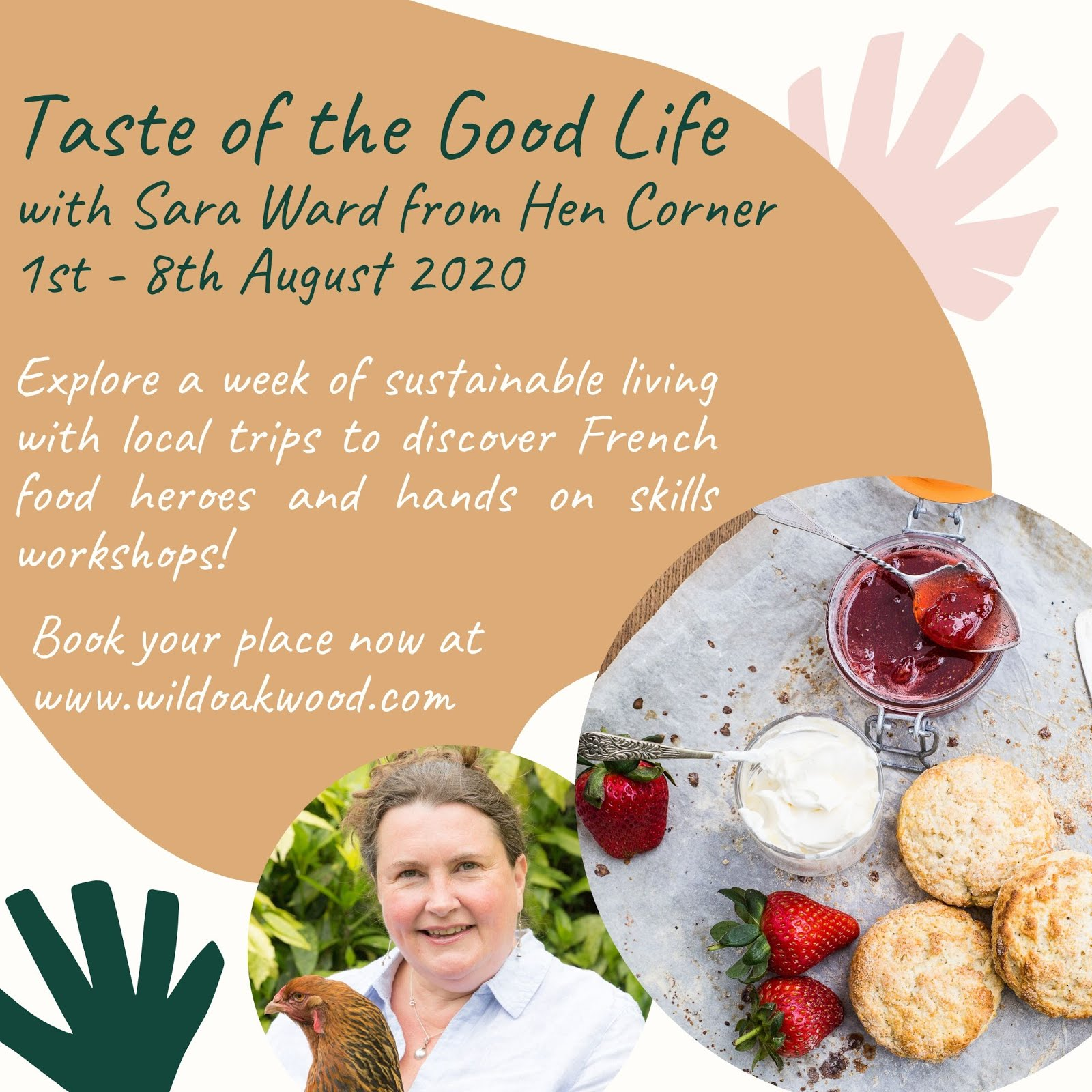 Taste The Good Life with Sara Ward
