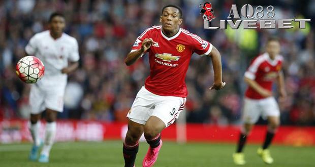 Liputan Bola - Striker anyar Manchester United, Anthony Martial sudah mampu membuktikan kualitasnya bersama klub barunya