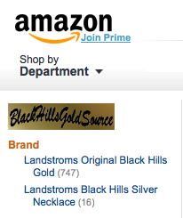 Find BlackHillsGoldSource on Amazon