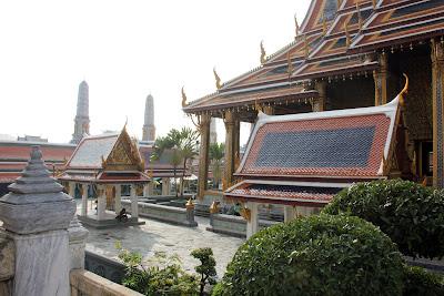 Temple du Bouddha d'émeraude à Bangkok