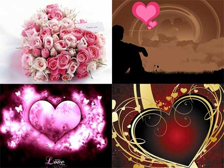 Love Wallpaper Pack : BlackBerry Love Wallpaper Pack, 142 JPG (320x240 & 480x360).: Portable Own